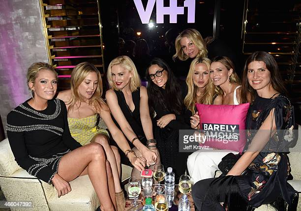 Actresses Erin Foster and Kate Hudson singer/songwriter Gwen Stefani actress Demi Moore film producer Heather Parry stylist Rachel Zoe actress Sara...