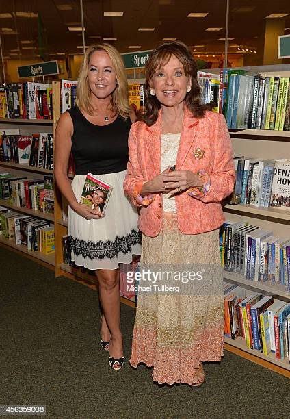 Actresses Erin Murphy and Dawn Wells attend a signing for Wells' new book 'What Would Mary Ann Do' at Barnes Noble bookstore at The Grove on...