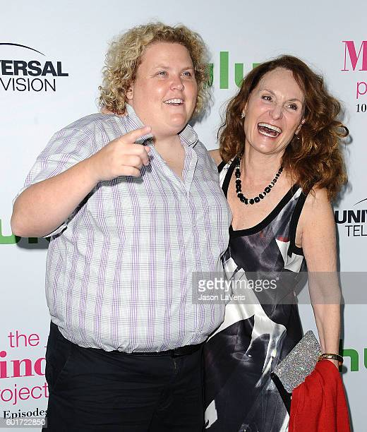 Actresses Fortune Feimster and Beth Grant attend the 100th episode celebration of 'The Mindy Project' at EP LP on September 9 2016 in West Hollywood...