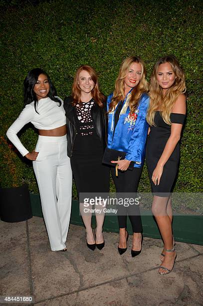 Actresses Gabrielle Union and Bryce Dallas Howared TV personality Cat Deeley and model Cat Deeley celebrate the new Samsung Galaxy S6 edge and Galaxy...