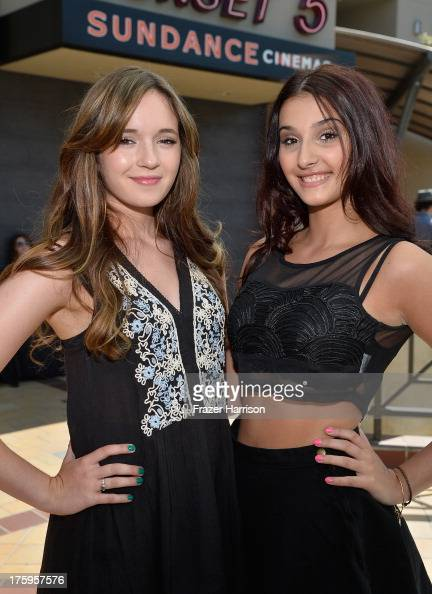 Actresses Gina Piersanti and Giovanna Salimeni attend 'It Felt Like Love' premiere during NEXT WEEKEND presented by Sundance Institute at Sundance...