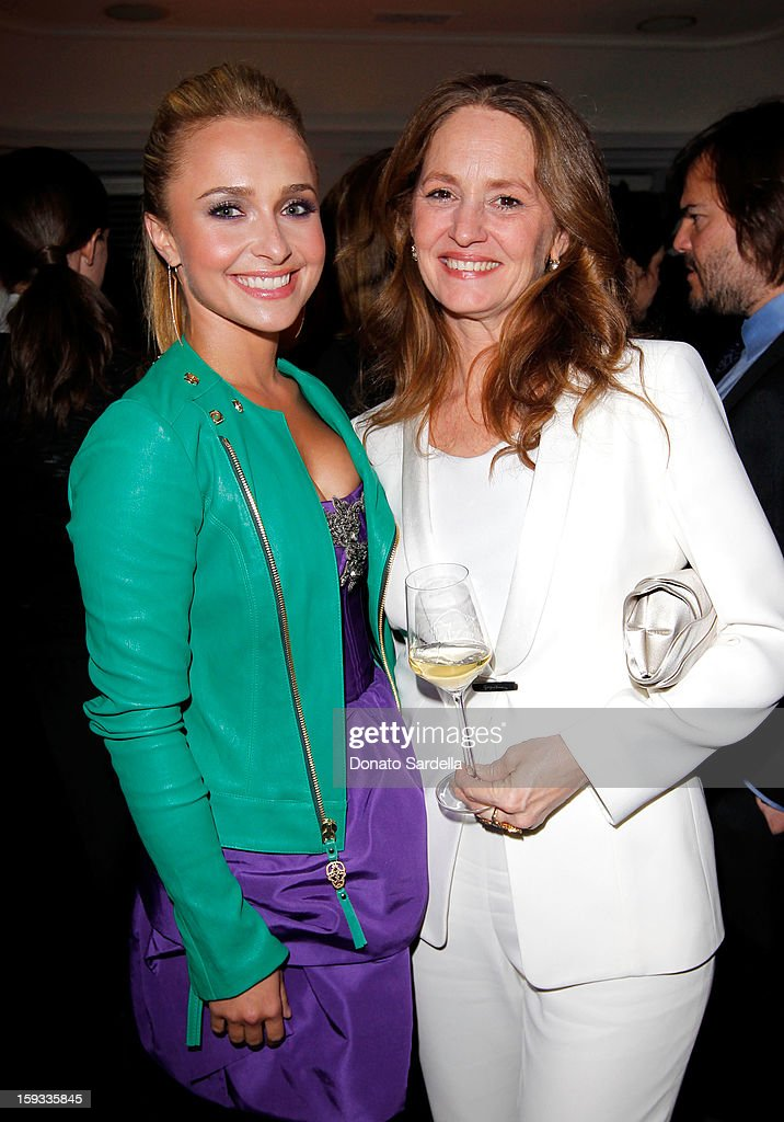 """Actresses Hayden Panettiere and Melissa Leo attend W Magazine's 'Best Performances Issue"""" and the Golden Globe Awards celebration with W Magazine, Cadillac and Dom Pérignon at Chateau Marmont on January 11, 2013 in Los Angeles, California."""