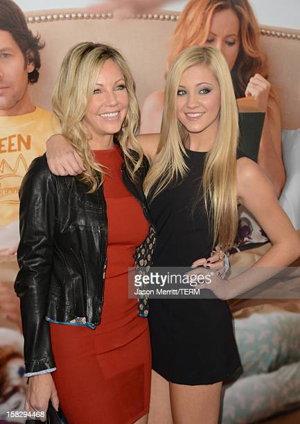 Actresses Heather Locklear and Ava Sambora arrive at the 'This Is 40' Los Angeles Premiere at Grauman's Chinese Theatre on December 12 2012 in...