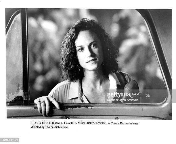 Actresses Holly Hunter in a scene from the movie 'Miss Firecracker ' circa 1989