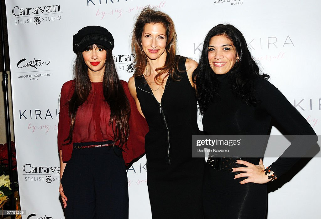 Actresses Jackie Cruz, <a gi-track='captionPersonalityLinkClicked' href=/galleries/search?phrase=Alysia+Reiner&family=editorial&specificpeople=655685 ng-click='$event.stopPropagation()'>Alysia Reiner</a> and Laura Gomez attend the 'Orange Is The New Black - My Year In Women's Prison' charity book shopping experience at Carlton Hotel on December 18, 2013 in New York City.