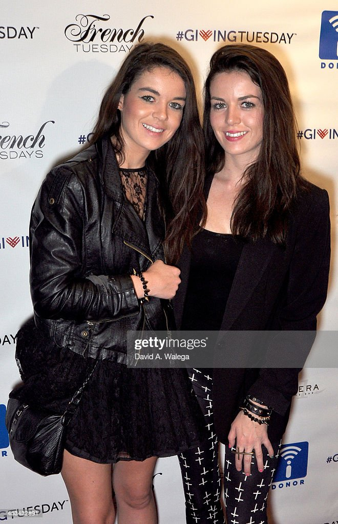 Actresses Jade and Nikita Ramsey attend the 'Igniting The 21st Century Philanthropist' event at the Sofitel Hotel on December 3 2013 in Los Angeles...