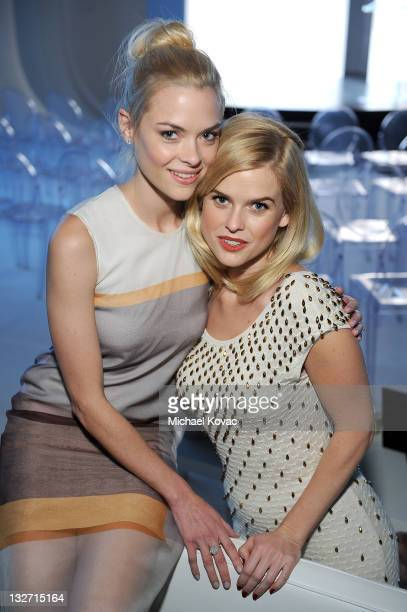 Actresses Jaime King and Alice Eve attend the 2011 Hollywood Style Awards sponsored by Smashbox The Palazzo Las Vegas and Palladium Jewelry held at...
