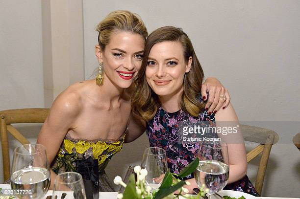 Actresses Jaime King and Gillian Jacobs attend Fergie First Lady of Los Angeles Amy Elaine Wakeland Barneys New York Host Dinner to Welcome Cindi...