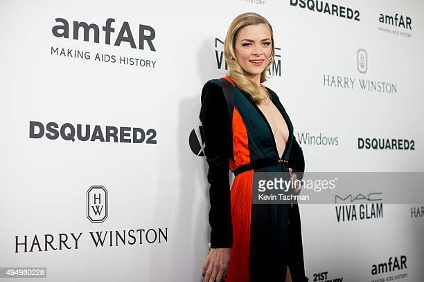 Actresses Jaime King arrives at the amfAR Inspiration Gala at Milk Studios on October 29 2015 in Hollywood California