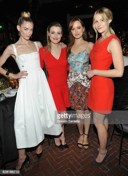 Actresses Jaime King Gillian Jacobs Ahna O'Reilly and Destry Allyn Spielberg attend Dior Lady Art Los Angeles Popup Boutique Opening Event on...
