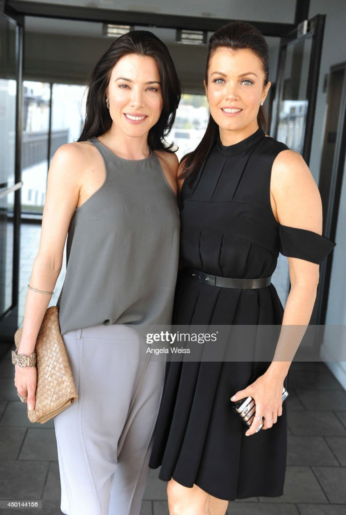Actresses Jaime Murray and Bellamy Young attend TheWrap's First Annual Emmy Party Inside at The London Hotel on June 5 2014 in West Hollywood...