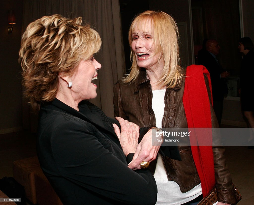 Actresses <a gi-track='captionPersonalityLinkClicked' href=/galleries/search?phrase=Jane+Fonda&family=editorial&specificpeople=202174 ng-click='$event.stopPropagation()'>Jane Fonda</a> and <a gi-track='captionPersonalityLinkClicked' href=/galleries/search?phrase=Sally+Kellerman&family=editorial&specificpeople=207185 ng-click='$event.stopPropagation()'>Sally Kellerman</a> attend An Evening with <a gi-track='captionPersonalityLinkClicked' href=/galleries/search?phrase=Jane+Fonda&family=editorial&specificpeople=202174 ng-click='$event.stopPropagation()'>Jane Fonda</a> benefiting The Women's Reproductive Rights Assistance Project on January 19, 2008 in West Hollywood, California.