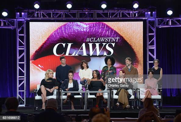 Actresses Jenn Lyon Judy Reyes Niecy Nash Carrie Preston and Karrueche Tran Executive producer Will McCormack Executive producer Rashida Jones...