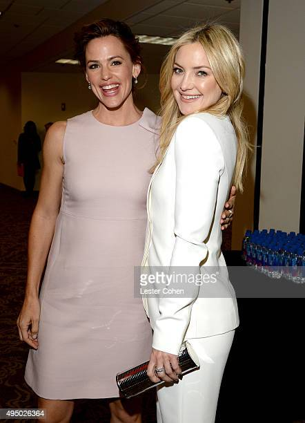 Actresses Jennifer Garner and Kate Hudson attend the 29th American Cinematheque Award honoring Reese Witherspoon at the Hyatt Regency Century Plaza...