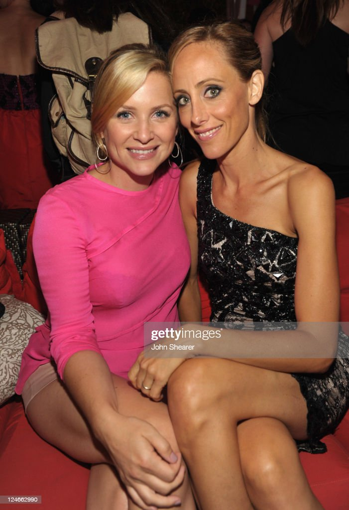 Actresses Jessica Capshaw and Kim Raver attend Elyse Walker Presents Pink Party '11 Hosted By Jennifer Garner To Benefit CedarsSinai Women's Cancer...