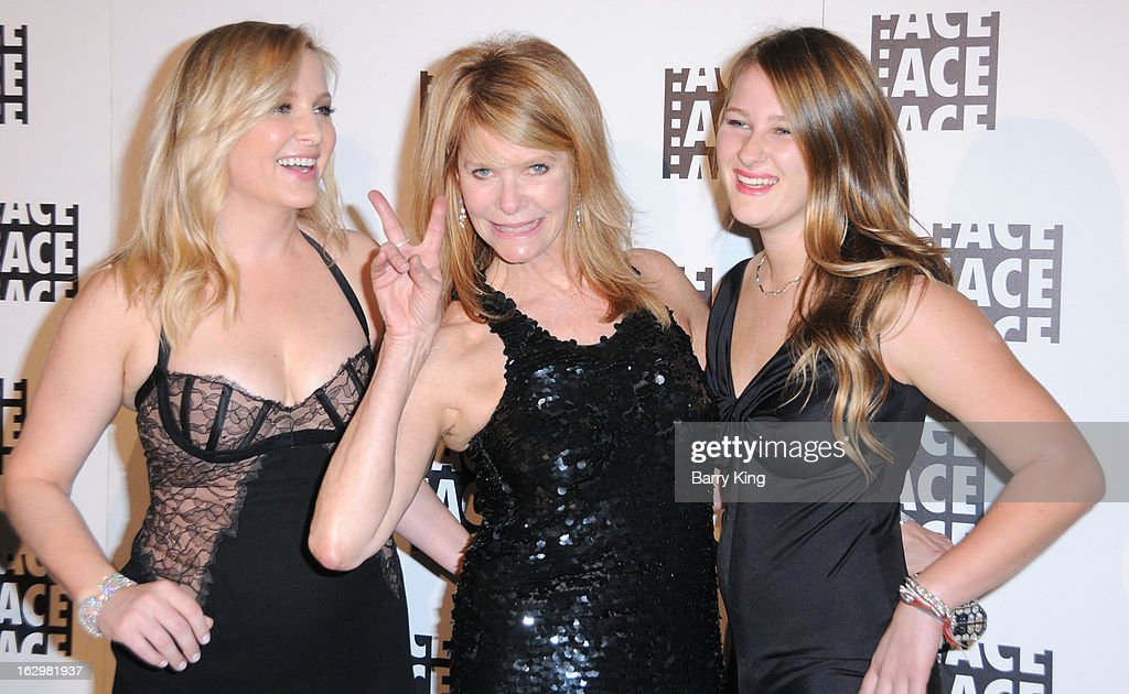 Actresses <a gi-track='captionPersonalityLinkClicked' href=/galleries/search?phrase=Jessica+Capshaw&family=editorial&specificpeople=207034 ng-click='$event.stopPropagation()'>Jessica Capshaw</a>, <a gi-track='captionPersonalityLinkClicked' href=/galleries/search?phrase=Kate+Capshaw&family=editorial&specificpeople=204585 ng-click='$event.stopPropagation()'>Kate Capshaw</a> and Destry Allyn Spielberg attend the 63rd Annual ACE Eddie Awards at The Beverly Hilton Hotel on February 16, 2013 in Beverly Hills, California.