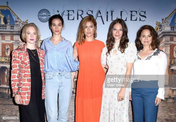 Actresses Jessica Clark and Elisa Lasowski producer Aude Albano and actresses Anna Brewster and Suzanne Clement attend Ovation Celebrates the Women...
