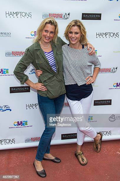 Actresses Julie Bowen and Ali Wentworth attend the 6th Annual Family Affair hosted by CMEE at Children's Museum of the East End on July 19 2014 in...