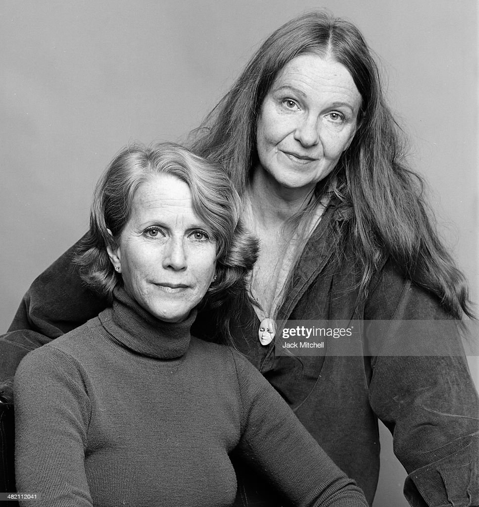 Actresses <a gi-track='captionPersonalityLinkClicked' href=/galleries/search?phrase=Julie+Harris+-+Actress&family=editorial&specificpeople=14645339 ng-click='$event.stopPropagation()'>Julie Harris</a> and Geraldine page photographed during rehearsals of 'Mixed Couples' on Broadway, which closed after only nine performances.