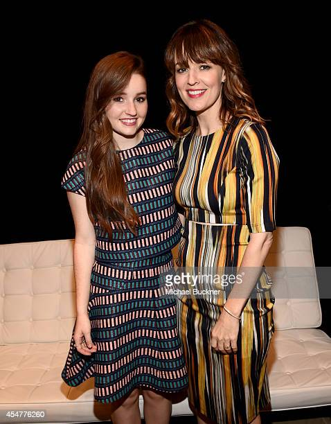 Actresses Kaitlyn Dever and Rosemarie DeWitt attend day 2 of the Variety Studio presented by Moroccanoil at Holt Renfrew during the 2014 Toronto...