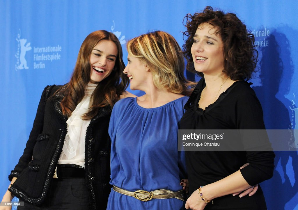 Actresses Kasia Smutniak Isabella Ferrari and Valeria Golino attend the 'Quiet Chaos' Photocall on day seven of the 58th Berlinale Film Festival at...