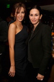 Actresses Kate Beckinsale and Courteney Cox attend SELF Magazine and Jennifer Aniston's celebration of Mandy Ingber's new book 'Yogalosophy 28 Days...