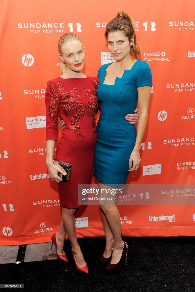 Actresses <a gi-track='captionPersonalityLinkClicked' href=/galleries/search?phrase=Kate+Bosworth&family=editorial&specificpeople=201616 ng-click='$event.stopPropagation()'>Kate Bosworth</a> (L) and <a gi-track='captionPersonalityLinkClicked' href=/galleries/search?phrase=Lake+Bell&family=editorial&specificpeople=209336 ng-click='$event.stopPropagation()'>Lake Bell</a> attend the 'Black Rock' premiere during the 2012 Sundance Film Festival held at Library Center Theater on January 21, 2012 in Park City, Utah.
