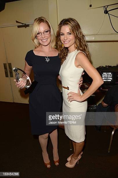 Actresses Katherine Heigl and Maria Menounos attend Variety's 4th Annual Power of Women Event Presented by Lifetime at the Beverly Wilshire Four...