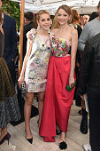 Actresses Kiernan Shipka and Jaime King attend CFDA/Vogue Fashion Fund Show and Tea at Chateau Marmont on October 20 2015 in Los Angeles California