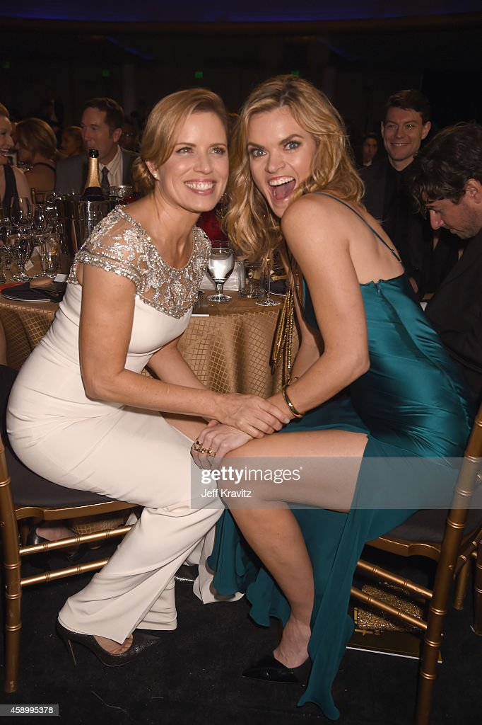 Actresses Kim Dickens and Missi Pyle attend the 18th Annual Hollywood Film Awards at The Palladium on November 14 2014 in Hollywood California