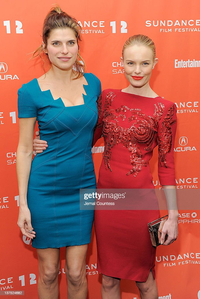Actresses <a gi-track='captionPersonalityLinkClicked' href=/galleries/search?phrase=Lake+Bell&family=editorial&specificpeople=209336 ng-click='$event.stopPropagation()'>Lake Bell</a> (L) and <a gi-track='captionPersonalityLinkClicked' href=/galleries/search?phrase=Kate+Bosworth&family=editorial&specificpeople=201616 ng-click='$event.stopPropagation()'>Kate Bosworth</a> attend the 'Black Rock' premiere during the 2012 Sundance Film Festival held at Library Center Theater on January 21, 2012 in Park City, Utah.