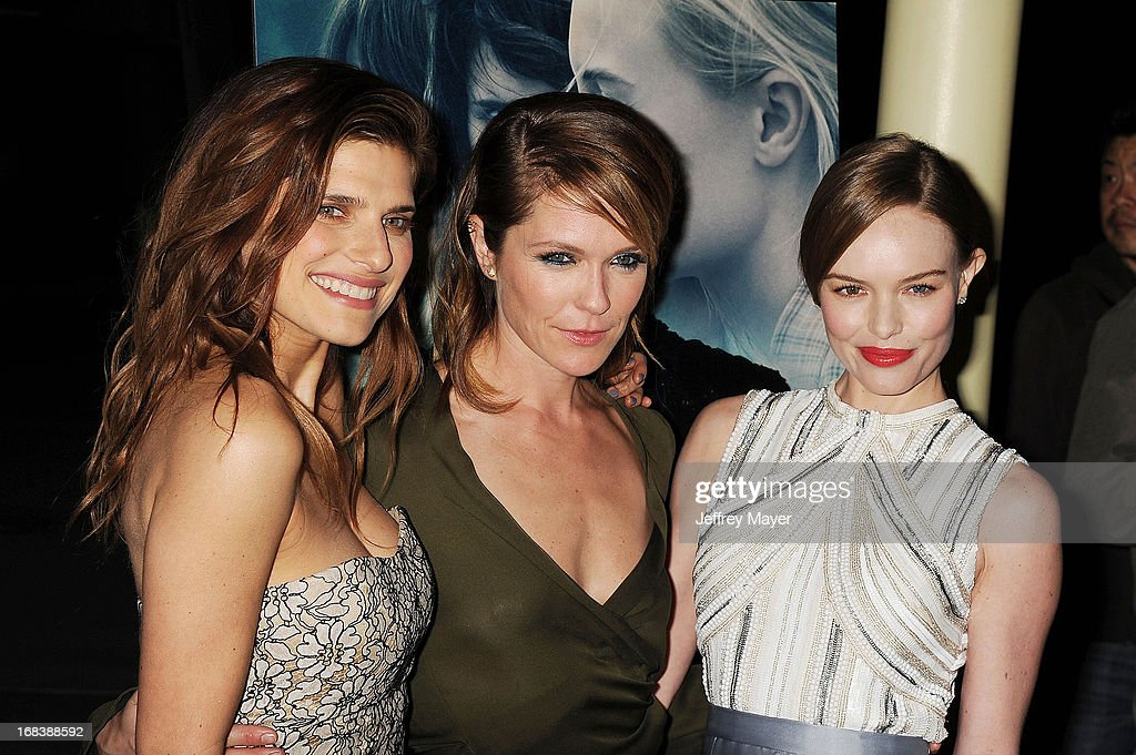 Actresses <a gi-track='captionPersonalityLinkClicked' href=/galleries/search?phrase=Lake+Bell&family=editorial&specificpeople=209336 ng-click='$event.stopPropagation()'>Lake Bell</a>, <a gi-track='captionPersonalityLinkClicked' href=/galleries/search?phrase=Katie+Aselton&family=editorial&specificpeople=6457083 ng-click='$event.stopPropagation()'>Katie Aselton</a> and <a gi-track='captionPersonalityLinkClicked' href=/galleries/search?phrase=Kate+Bosworth&family=editorial&specificpeople=201616 ng-click='$event.stopPropagation()'>Kate Bosworth</a> attend the 'Black Rock' Premiere held at ArcLight Hollywood on May 8, 2013 in Hollywood, California.