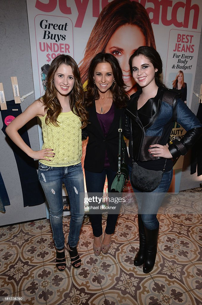 Actresses <a gi-track='captionPersonalityLinkClicked' href=/galleries/search?phrase=Laura+Marano&family=editorial&specificpeople=2546967 ng-click='$event.stopPropagation()'>Laura Marano</a>, <a gi-track='captionPersonalityLinkClicked' href=/galleries/search?phrase=Lacey+Chabert&family=editorial&specificpeople=203153 ng-click='$event.stopPropagation()'>Lacey Chabert</a> and <a gi-track='captionPersonalityLinkClicked' href=/galleries/search?phrase=Vanessa+Marano&family=editorial&specificpeople=851394 ng-click='$event.stopPropagation()'>Vanessa Marano</a> attend People StyleWatch Denim Awards presented by GILT at Palihouse on September 19, 2013 in West Hollywood, California.