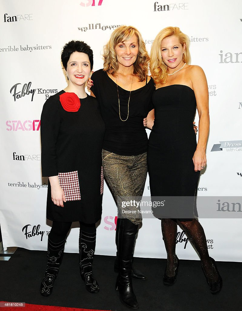 Actresses Lauren 'Coco' Cohn, Judy McLane and Felicia Finley attend the Stage17 Premiere at Walter Reade Theater on March 31, 2014 in New York City.