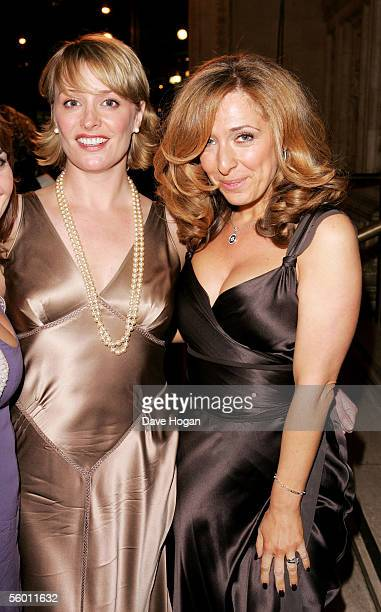 Actresses Laurie Brett and TraceyAnn Oberman attend the aftershow party following the National Television Awards 2005 at the Royal College of Art on...