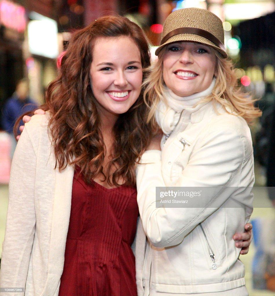 actresses liana hunt and lisa brescia attend broadways mamma mia 10 picture id105967389