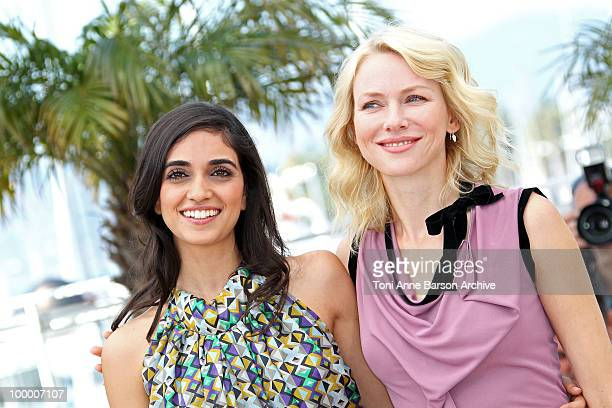 Actresses Liraz Charhi and Naomi Watts attend the 'Fair Game' Photo Call held at the Palais des Festivals during the 63rd Annual International Cannes...