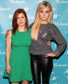 Actresses Magda Apanowicz and Alessandra Torresani attend the premiere of CW Seed's 'Husbands' at The Paley Center for Media on August 14 2013 in...