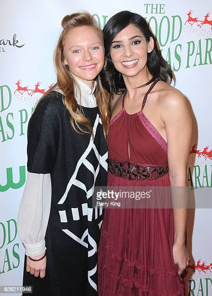 Actresses Marci Miller and Camila Banus attend the 85th Annual Hollywood Christmas Parade on November 27 2016 in Hollywood California