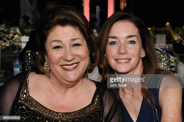 Actresses Margo Martindale and Julianne Nicholson attend the 20th Annual Screen Actors Guild Awards at The Shrine Auditorium on January 18 2014 in...