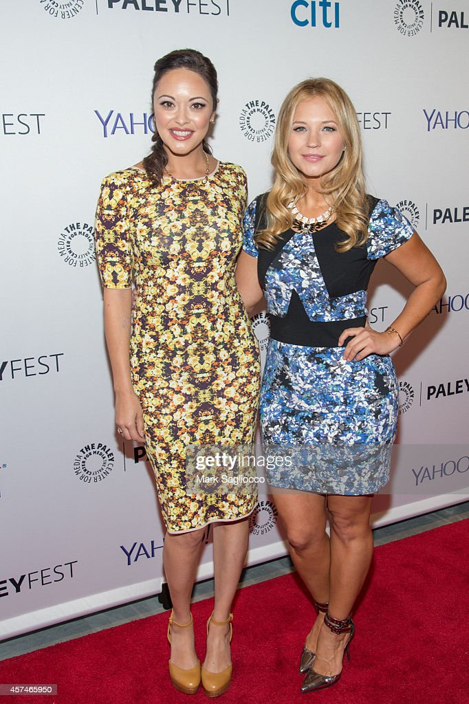 Actresses Marisa Ramirez and Vanessa Ray attend the 2nd Annual Paleyfest of 'Blue Bloods' at the Paley Center For Media on October 18 2014 in New...
