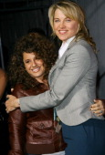 Actresses Marissa Jaret Winokur and Lucy Lawless arrrives at Sony Pictures Los Angeles Premiere of '30 Days of Night' held at Grauman's Chinese...