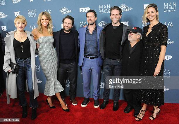 Actresses Mary Elizabeth Ellis and Kaitlin Olson actors Charlie Day Rob McElhenney Glenn Howerton Danny DeVito and actress Jill Latiano attend the...