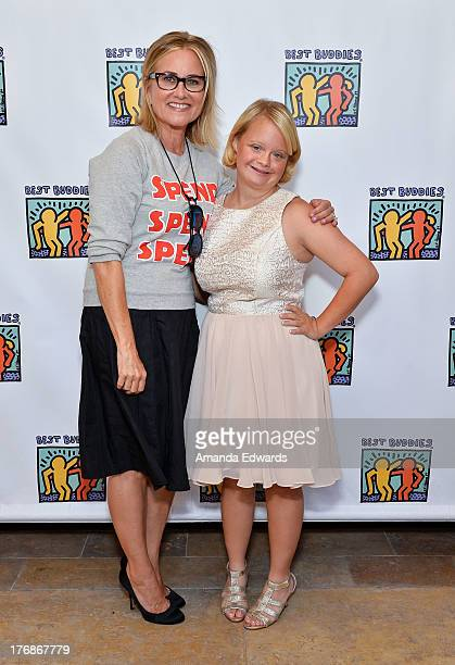 Actresses Maureen McCormick and Lauren Potter attend the Team Maria benefit for Best Buddies at Montage Beverly Hills on August 18 2013 in Beverly...