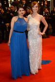 Actresses Melonie Diaz and Ahna O'Reilly attend the 'Fruitvale Station' Premiere during the 66th Annual Cannes Film Festival at the Palais des...