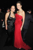 Actresses Michelle Rodriguez and Petra Nemcova arrive at the 2012 amfAR's Cinema Against AIDS after party during the 65th Annual Cannes Film Festival...