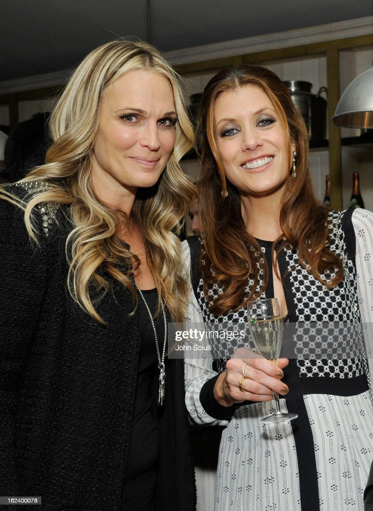 Actresses <a gi-track='captionPersonalityLinkClicked' href=/galleries/search?phrase=Molly+Sims&family=editorial&specificpeople=202547 ng-click='$event.stopPropagation()'>Molly Sims</a> and Kate Walsh attend the Women In Film's 6th Annual Pre-Oscar Party hosted by Perrier Jouet, MAC Cosmetics and MaxMara at Fig & Olive on February 22, 2013 in Los Angeles, California.