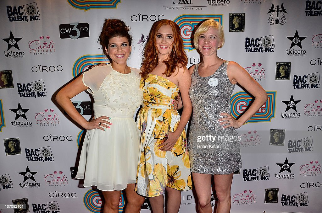 Actresses Molly Tarlov and <a gi-track='captionPersonalityLinkClicked' href=/galleries/search?phrase=Andrea+Bowen&family=editorial&specificpeople=212969 ng-click='$event.stopPropagation()'>Andrea Bowen</a>, and producer Samantha Kern attend the screening of 'G.B.F.' during the 2013 Tribeca Film Festival at Studio XXI on April 19, 2013 in New York City.