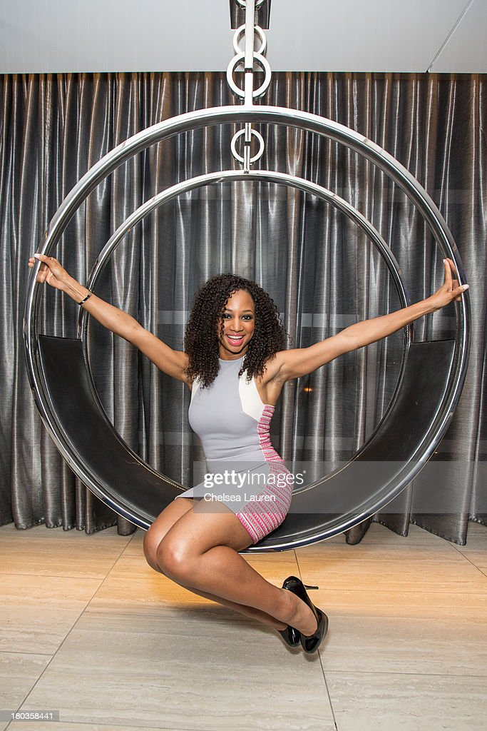 Actresses Monique Coleman poses at the 6th annual SELF Magazine's Women Doing Good Awards at Apella on September 11 2013 in New York City