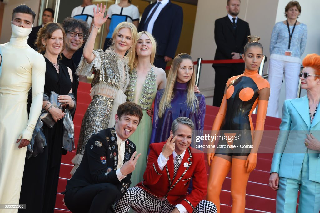 """How To Talk To Girls At Parties"" Red Carpet Arrivals - The 70th Annual Cannes Film Festival"